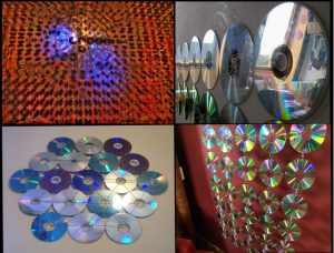 διακοσμηση με cds
