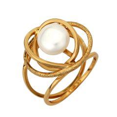 χρυσο δαχτυλιδι με μαργαριταρι